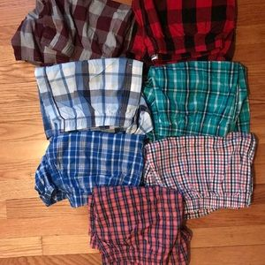 Old navy boxers, price is for all 7 pairs!!